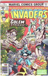 Invaders,The #13 (Feb-77) FN- Mid-Grade The Human Torch