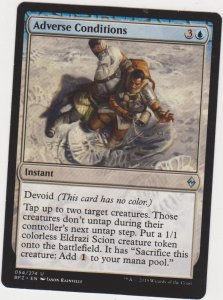 Magic the Gathering: Battle for Zendikar - Adverse Conditions