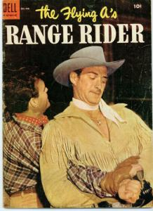 FLYING AS RANGE RIDER (1952-1959 DELL) 8 G-VG PHOTOCOVE COMICS BOOK