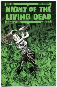 NIGHT of the LIVING DEAD AFTERMATH #1, VF, Terror, 2012, more Horror in store