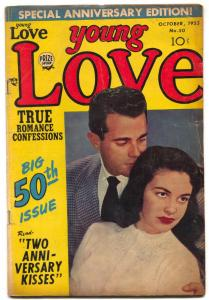 Young Love #50 1953- Jack Kirby- Romances VG+