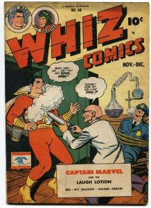 Whiz #68-1945 Captain Marvel Shazam Golden Age