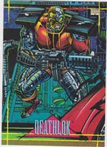 1993 Marvel Universe #8 Deathlok