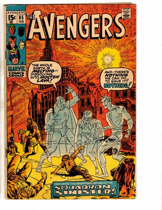 Avengers # 85 VG/FN Marvel Comic Book Iron Man Hulk Thor Vision Wasp Ant-Man NP4
