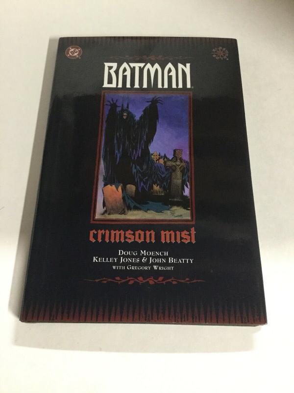 Batman Crimson Mist Nm Near Mint DC Comics HC TPB