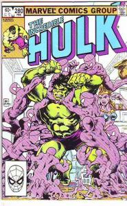 Incredible Hulk #280 (Feb-84) VF High-Grade Hulk