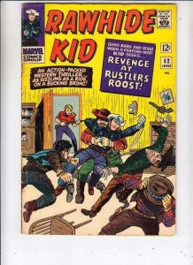 Rawhide Kid # 52 strict FN artist Dick Ayers and Larry Lieber