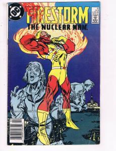 Firestorm The Nuclear Man #82 VF DC Comics Flash TV Comic Book Ostrander DE21
