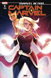 MARVEL ACTION CAPTAIN MARVEL (2019 IDW) #1 PRESALE-08/14