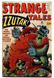 STRANGE TALES #88 comic book-1961-MARVEL-KIRBY & DITKO-ZZUTAK