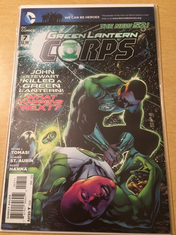 Green Lantern Corps #7  The New 52