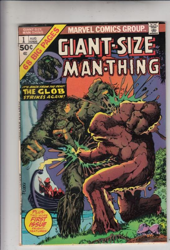 Giant-Size Man-Thing #1 (Aug-74) VF/NM High-Grade Man-Thing