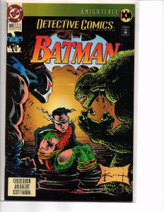 DC Comics Detective Comics #660 Batman; Knightfall Part 4 1st Print Kieth Cover