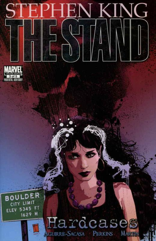 Stand, The: Hardcases #3 VF/NM; Marvel | save on shipping - details inside