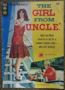 GIRL FROM U.N.C.L.E. (Gold Key, 6/1967) #3 GOOD. Photo Cover Comic! UNCLE