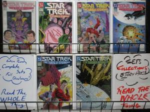 STAR TREK (1989 DC) 35-40 THE TABUKAN SYNDROME