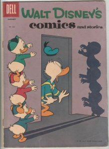 Comics and Stories, Walt Disney's # 262 Strict FN+ Carl Barks, Gyro Gearloose