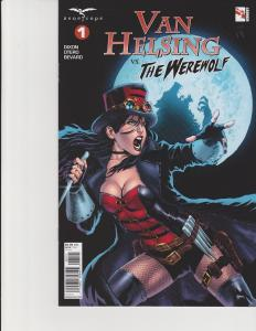 Van Helsing vs the Werewolf #1 Cover B Zenescope GFT Comic NM Diaz