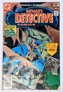 Detective Comics #477 (Jun 1978, DC) VG/FN 5.0 Dick Giordano cover