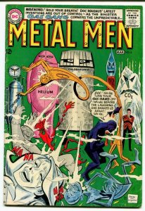 Metal Men #6 (5.0) 1964 THE DAY DOC TURNED ROBOT! Silver Age DC Comics ID05G