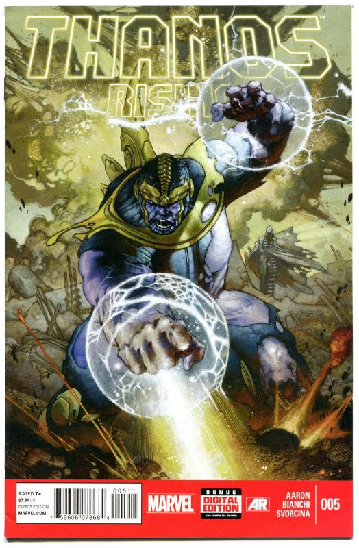 THANOS RISING #5, VF+, Death to all, 2013, 1st, Evil, more Marvel in store