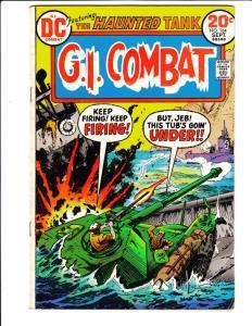 G.I. Combat #164 (Sep-73) FN+ Mid-Grade The Haunted Tank