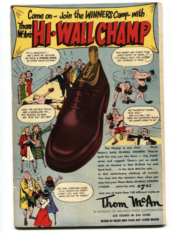 Wonder Woman #53 1952-WW hooked up to LIE DETECTOR on cover