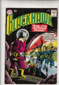 Blackhawk #156 (Jan-61) FN/VF+ High-Grade Black Hawk, Chop Chop, Olaf, Pierre...