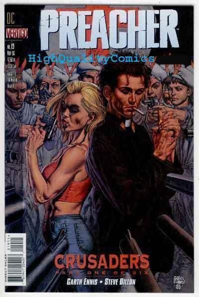 PREACHER 19, NM, Garth Ennis, Vertigo, Glenn Fabry, Dillon, more in store