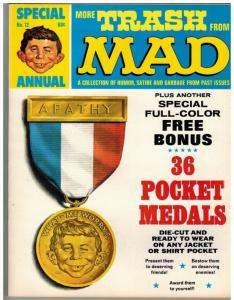 MORE TRASH FROM MAD (1958-1969) 12 F-VF W/PONUS 1969