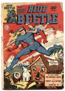 Blue Beetle #36 1944-Fox Golden Age- Runaway House F/G