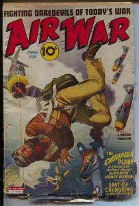 Air War 5/1944-Thrilling-parachute cover-David Goodis-Capt Danger-G