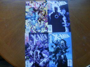 4 Marvel Comic: X-MEN #271 (1990) + #197 #198 #199 (Red Data) (2007) Rogue Cable