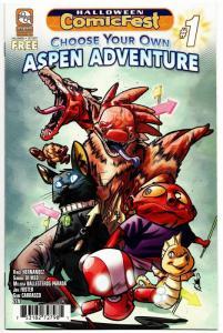 HCF Halloween ComicFest Choose Your Own Aspen Adventure #1 (2017) NM