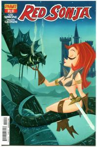 RED SONJA #11, VF, She-Devil, S Buscema, Walter Geovani, 2014, more RS in store