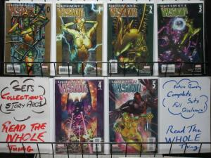 ULTIMATE VISION  0-5  complete 'ULTIMATE' title tie-in