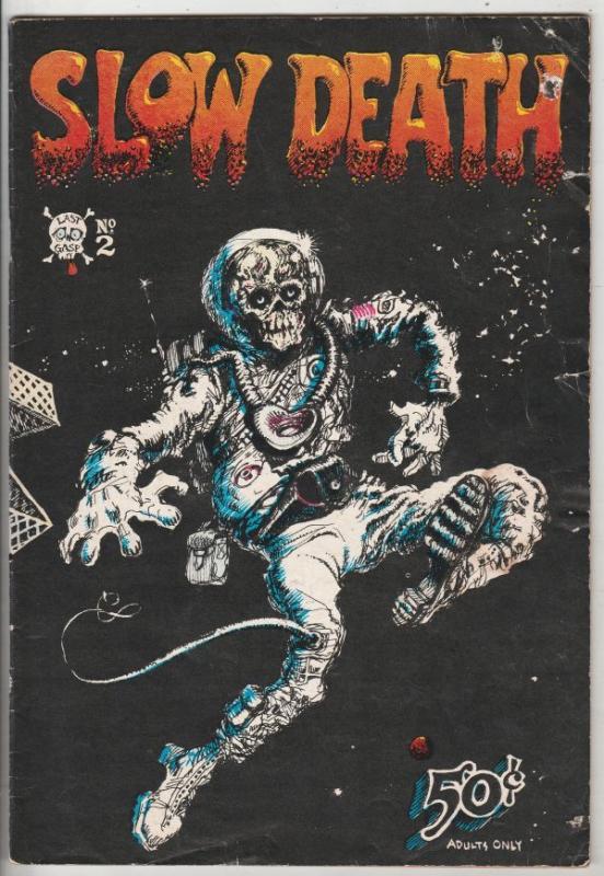 Slow Death #2 (Jan-70) GD Affordable-Grade
