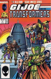 G.I. Joe and the Transformers #4 VF; Marvel | save on shipping - details inside