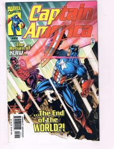 Captain America #22 VF Marvel Comics Comic Book Waid Klaw 1999 DE11
