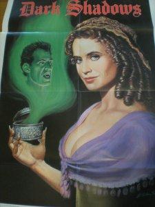 DARK SHADOWS Promo poster, 24 x 39, 1991, Unused, Vampire