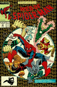 Web of Spider-Man #50 - NM - Giant Size Issue