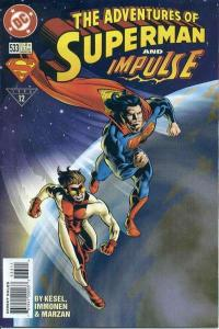 Adventures of Superman (1987 series) #533, NM + (Stock photo)