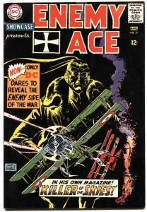 SHOWCASE #57 1965-DC-ENEMY ACE-SILVER-AGE