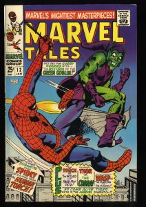 Marvel Tales #12 FN 6.0 White Pages Spider-Man Green Goblin!