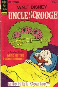 UNCLE SCROOGE (1962 Series) (GOLD KEY)  #112 Fine Comics Book