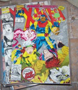 X Men comic # 8 (May 1992, Marvel) gambit vs bishop  + ghost rider  rogue