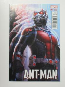 Ant-Man(Marvel 2015) #1 Movie Poster Variant Paul Rudd Costume Nick Spencer