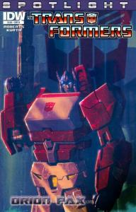 Transformers, The: Spotlight #26B VF/NM; IDW | save on shipping - details inside