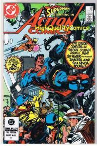 ACTION COMICS #552, VF/NM, Superman, Animal Man, 1938 1984