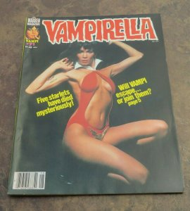 Vampirella #71 VF 1978 Science Fiction/Horror Magazine Five Starlets Dead